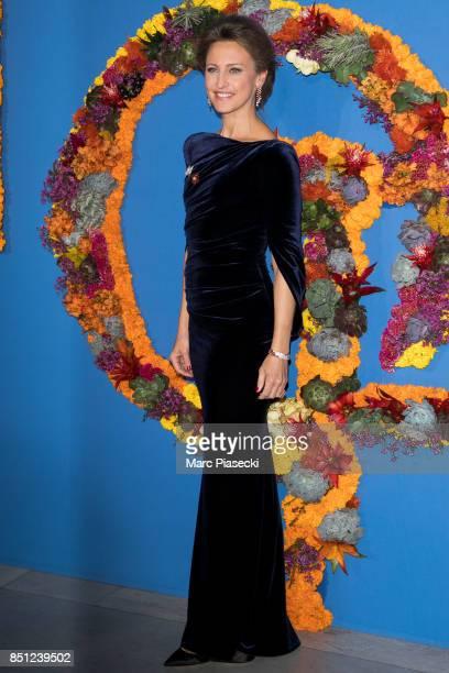 CoPresident of the Opening Gala Kinga Lampert attends the Opening Season Gala at Opera Garnier on September 21 2017 in Paris France