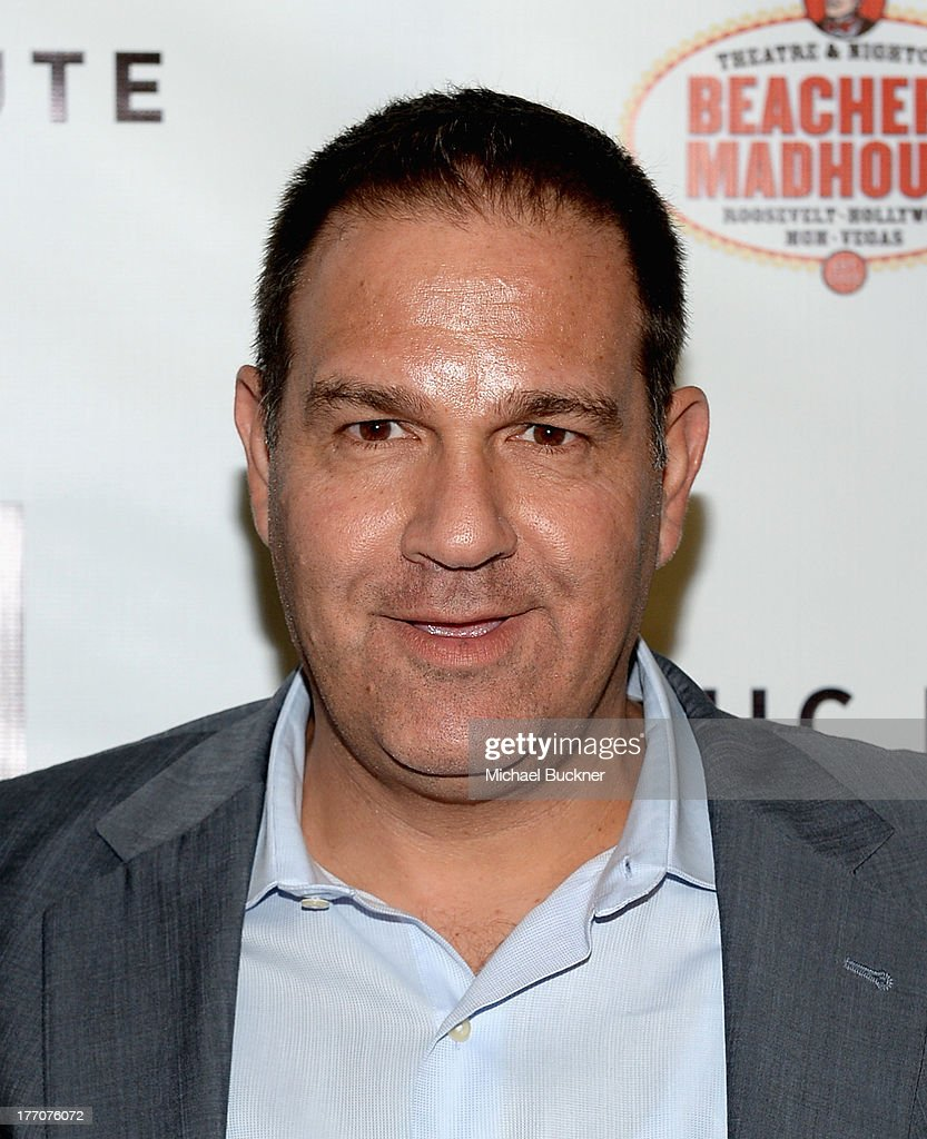Co-President Vertical Entertainment Mitch Budin arrives at the premiere of Vertical Entertainment's 'Scenic Route' at Chinese 6 Theater- Hollywood on August 20, 2013 in Hollywood, California.