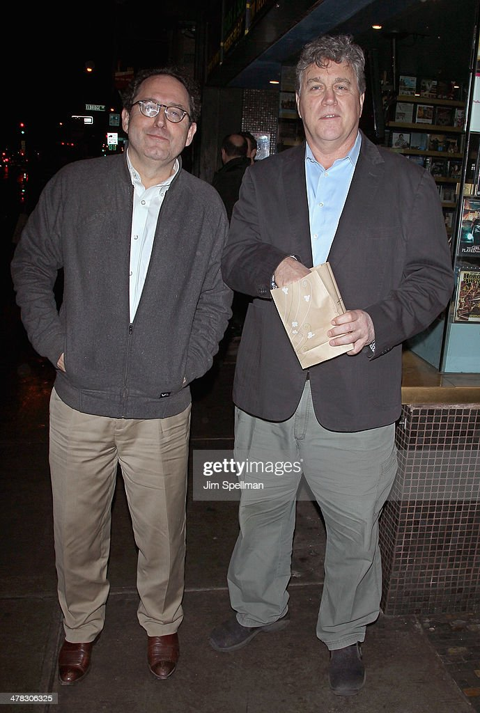 Co-Presidents and Co-Founders of Sony Pictures Classics Michael Barker and Tom Bernard attend Sony Pictures Classics' 'Only Lovers Left Alive' screening hosted by The Cinema Society and Stefano Tonchi, Editor in Chief of W Magazine at Landmark's Sunshine Cinema on March 12, 2014 in New York City.