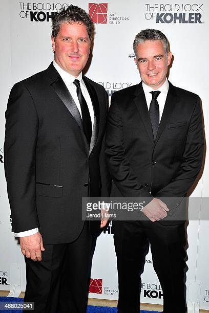 ADG coproducers Dave Blass and Raf Lydon arrive at the 18th Annual Art Directors Guild Excellence in Production Design Awards at The Beverly Hilton...