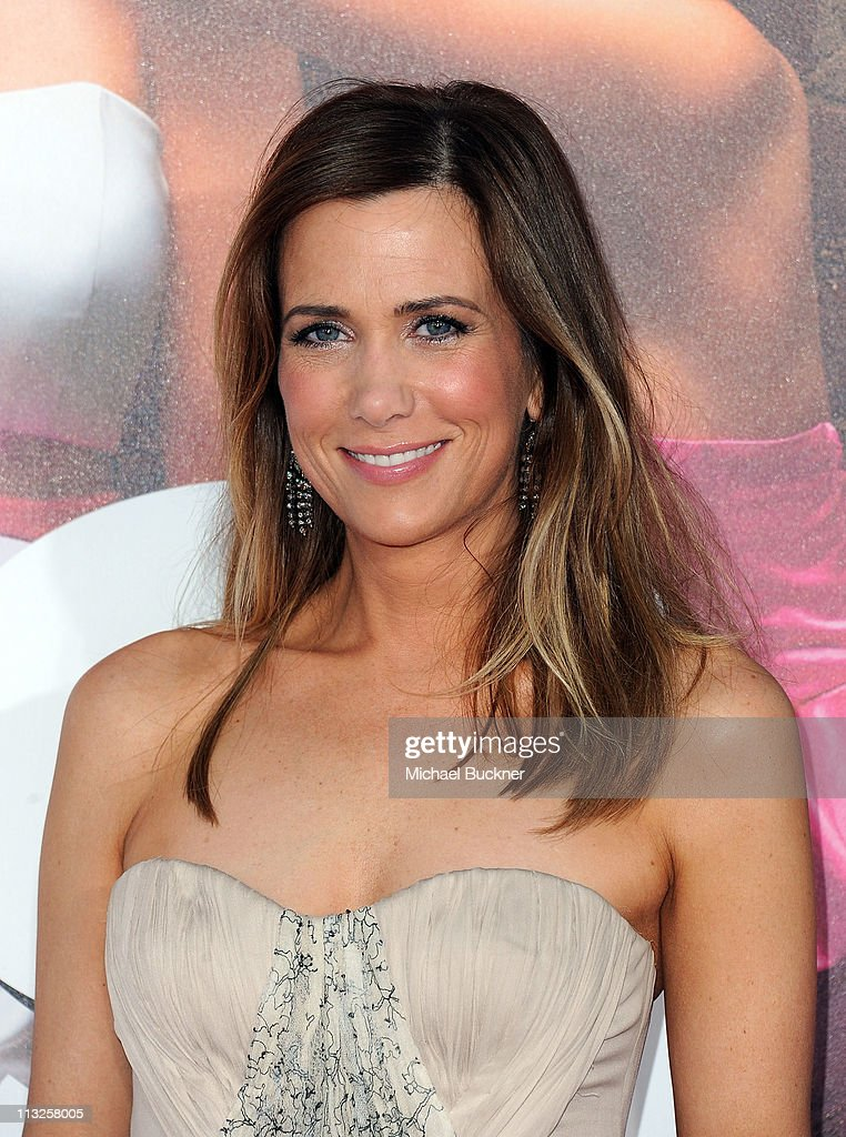 Co-producer/writer/actress Kristen Wiig arrives at the Premiere of Universal Pictures' 'Bridesmaids' at the Mann Village Theatre on April 28, 2011 in Westwood, California.