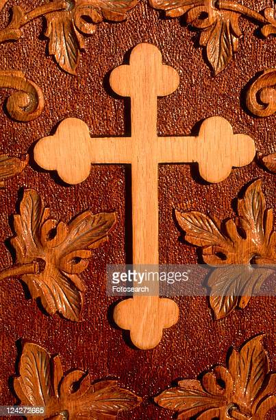 Coptic wooden cross