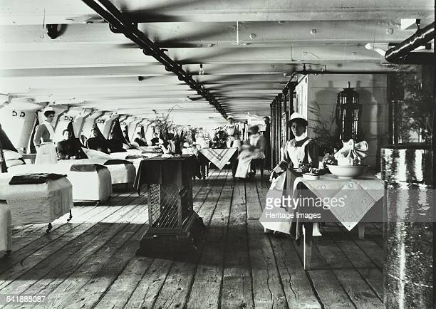 A copy of a photograph of the ward deck of the Atlas Smallpox Hospital Ship c1890c1899 Joyce Green Hospital was once the centrepiece of the...
