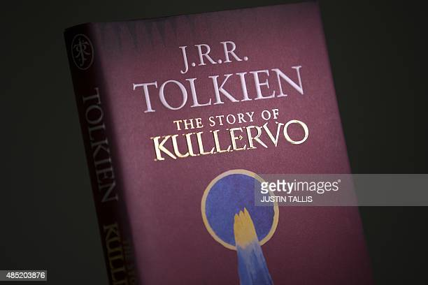 A copy of 'The Story of Kullervo' by JRR Tolkien is pictured in London on August 25 2015 The first prose work by 'Lord of the Rings' author JRR...