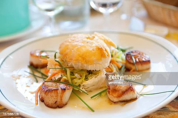 Coquilles St. Jacques as Served in Provence