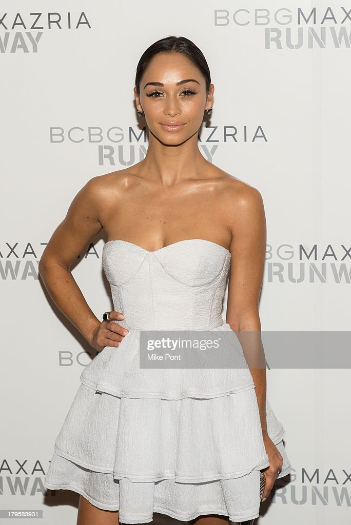 Cora Santana attends the BCBGMAXAZRIA Spring 2014 fashion show at The Theatre Lincoln Center on September 5, 2013 in New York City.