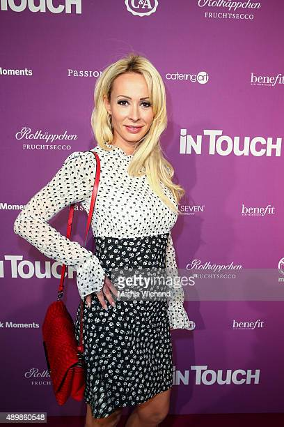 Cora Schumacher attends the Icons Idols No 3 event to celebrate the 10th anniversary of InTouch magazine on September 24 2015 in Duesseldorf Germany