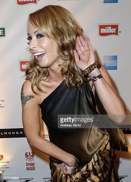 Cora Schumacher attends the 'Movie meets Media' Night at Hotel Atlantic on December 3 2010 in Hamburg Germany
