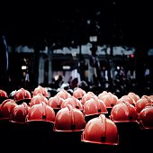 Coral Colored Helmets In Factory