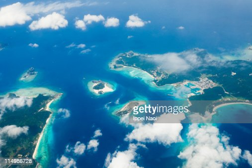 Coral islands in tropical Japan