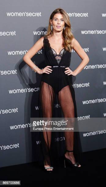 Coral Simanovich attends the event Women'Secret Night to present the campaign Wanted on November 2 2017 in Madrid Spain