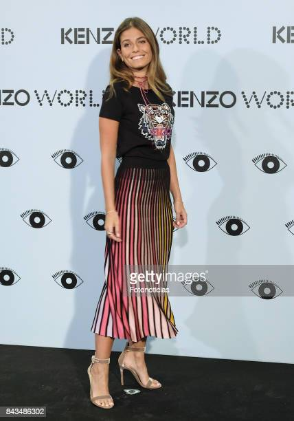 Coral Simanovich attends the Kenzo Summer Party at the Royal Theater on September 6 2017 in Madrid Spain