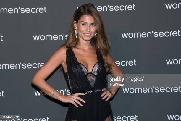 Coral Simanovich attends the 'Wanted' fashion film for Women's Secret in Madrid on 2 Nov 2017