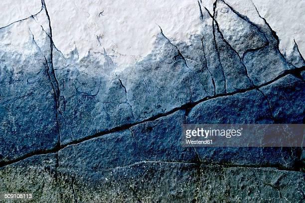 Coratia, Brac, eroded limestone, partial view