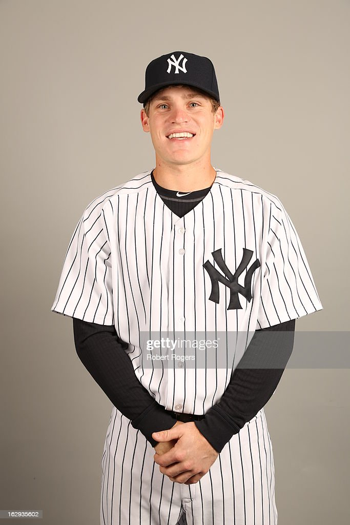 Corban Joseph #77 of the New York Yankees poses during Photo Day on February 20, 2013 at George M. Steinbrenner Field in Tampa, Florida.