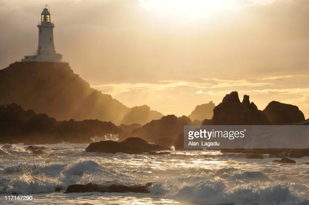 Corbiere Lighthouse,Jersey.