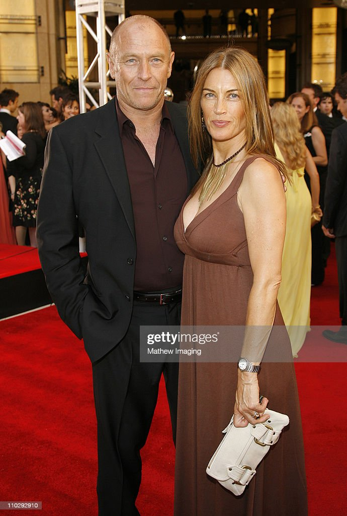 Corbin Bernsen and Amanda Pays during 34th Annual Daytime Emmy Awards - Red Carpet at Kodak Theatre in Hollywood, California, United States.