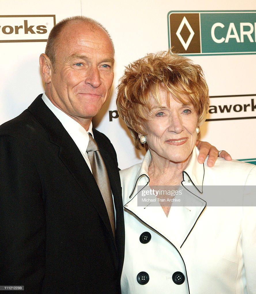 <a gi-track='captionPersonalityLinkClicked' href=/galleries/search?phrase=Corbin+Bernsen&family=editorial&specificpeople=211428 ng-click='$event.stopPropagation()'>Corbin Bernsen</a> and <a gi-track='captionPersonalityLinkClicked' href=/galleries/search?phrase=Jeanne+Cooper&family=editorial&specificpeople=208646 ng-click='$event.stopPropagation()'>Jeanne Cooper</a> during World Premiere of The Public Media Works Independent Feature Film 'Carpool Guy' - Arrivals at Arclight Theaters in Hollywood, California, United States.