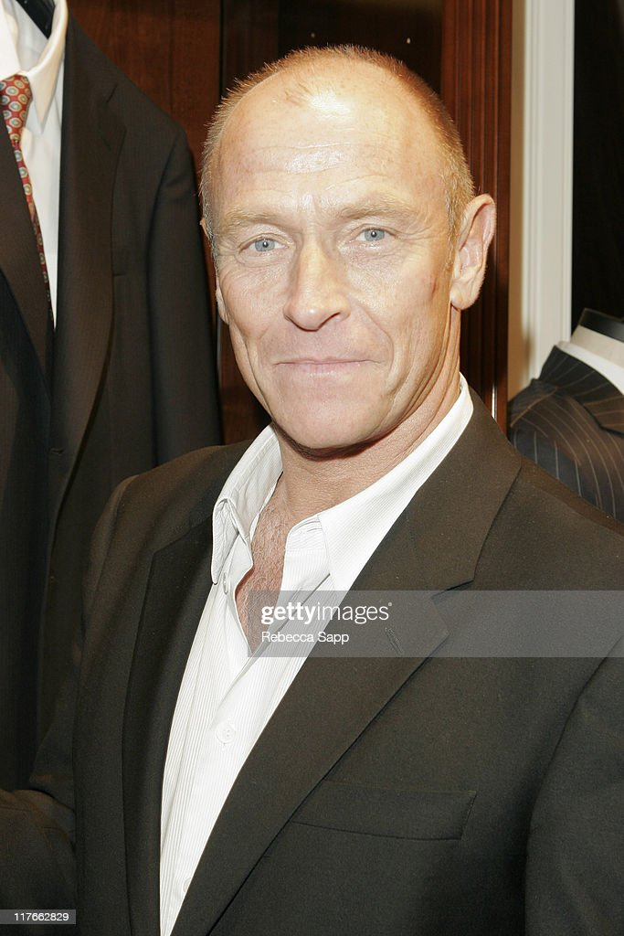 <a gi-track='captionPersonalityLinkClicked' href=/galleries/search?phrase=Corbin+Bernsen&family=editorial&specificpeople=211428 ng-click='$event.stopPropagation()'>Corbin Bernsen</a> during Brooks Brothers Hosts Inner-City Arts Fundraiser and Christie's Vintage Photography Exhibition at Brooks Brothers in Beverly Hills, California, United States.