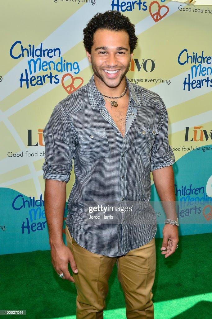 Corbin Bleu arrives at Children Mending Hearts' 6th Annual Fundraiser 'Empathy Rocks A Spring Into Summer Bash' on June 14 2014 in Beverly Hills...
