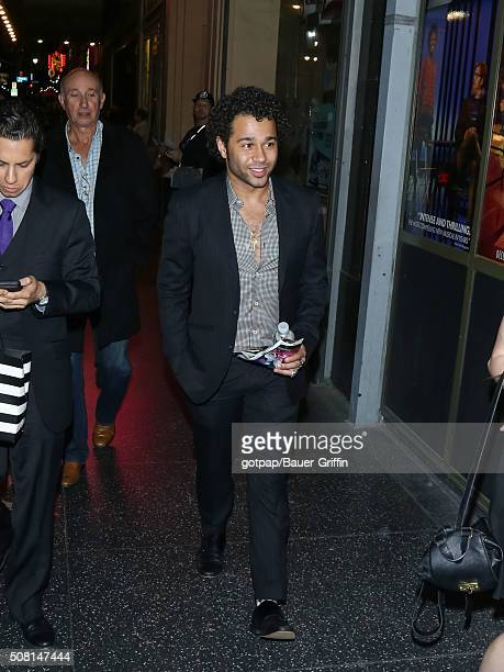 Corbin Bleu is seen on February 02 2016 in Los Angeles California