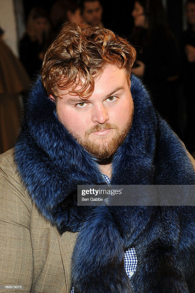 Corbin Chamberlin attends the Chadwick Bell fall 2013 fashion show during Mercedes-Benz Fashion Week at Cafe Rouge on February 8, 2013 in New York City.