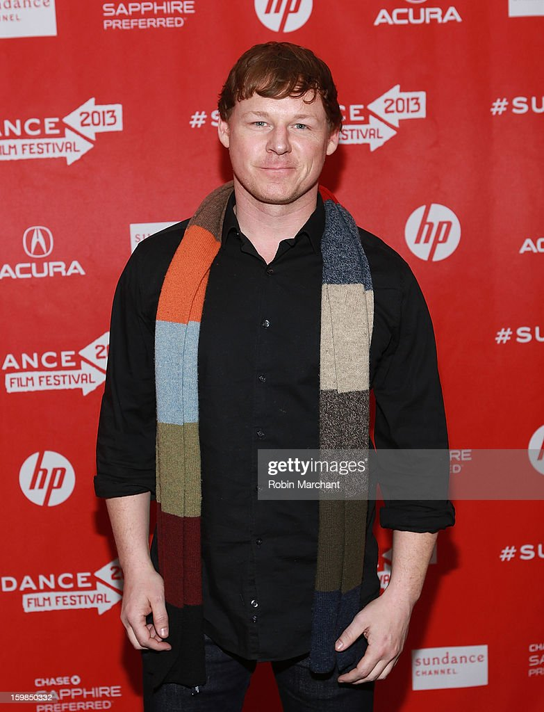 Corby Sullivan attends 'Pit Stop' Premiere at Prospector Square on January 21, 2013 in Park City, Utah.