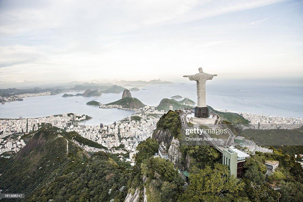 Corcovado and Rio de Janeiro