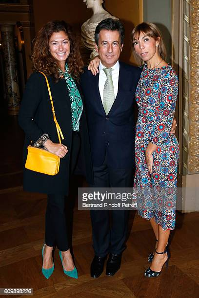 Cordelia de Castellane Cyril Karaoglan and Mathilde Favier attend Cyril Karaoglan receives the Medal of Commander of Arts and Letters at Opera...