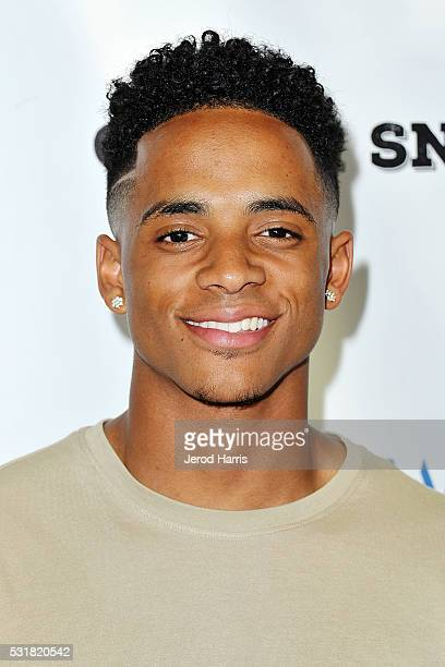Cordell Broadus arrives at the Premiere of AOL and First Row Films' 'Coach Snoop' at TCL Chinese 6 Theatres on May 16 2016 in Hollywood California