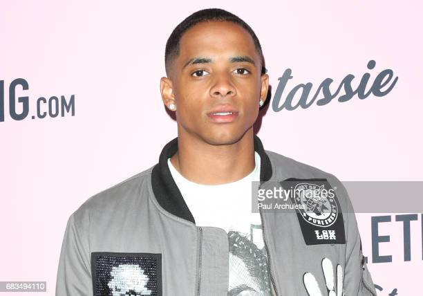Cordell Broadus attends the 'PrettyLittleThing' campaign launch on April 11 2017 in Los Angeles California