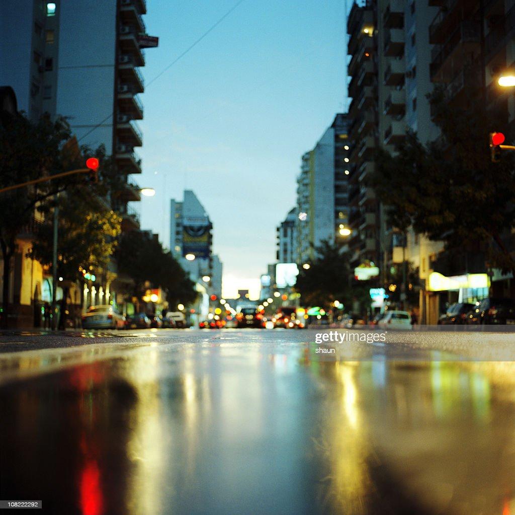 Cordoba Avenue at Sunset