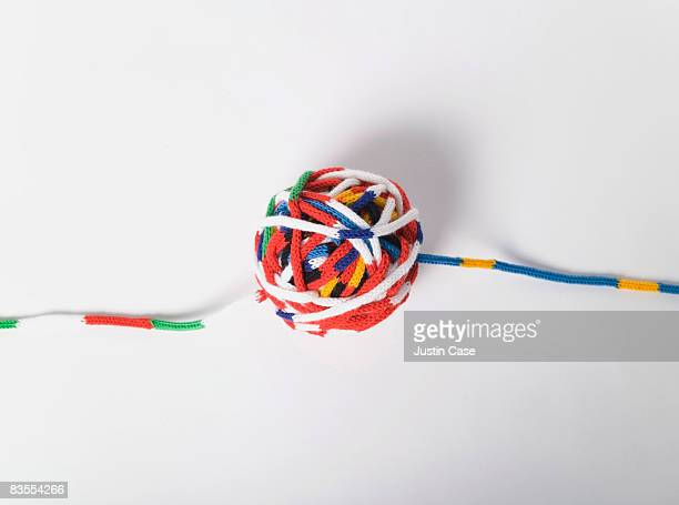 Cords of wool in the EU Colors