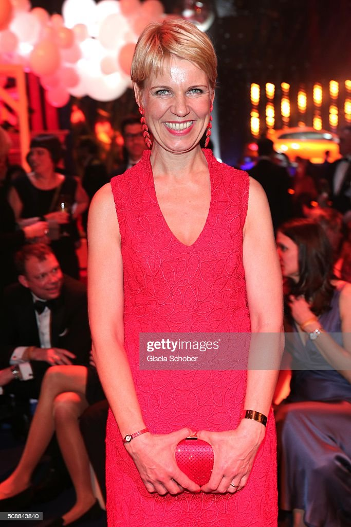 Cordula Stratmann during the after show party of the Goldene Kamera 2016 on February 6, 2016 in Hamburg, Germany.
