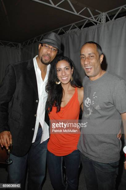 Core Turner Gina Turner and Justin Sane attend MAXWELL LA LOUIS XIII VIP LOUNGE at The Hollywood Bowl on October 16 2009 in Hollywood California