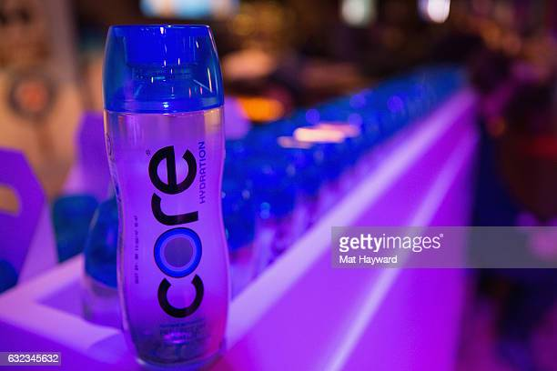 Core Water inside the Tone It Up Wellness Lounge during the Sundance Film Festiva on January 21 2017 in Park City Utah