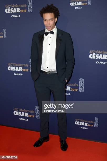 Corentin Fila arrives at the Cesar Film Awards Ceremony at Salle Pleyel on February 24 2017 in Paris France