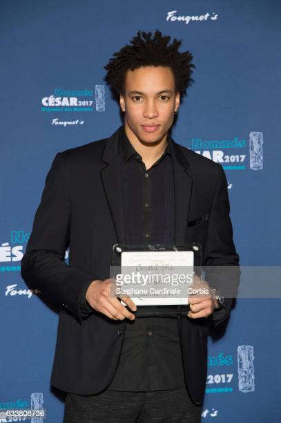 Corentin Fila attends 'Cesars 2017 Nominee luncheon' at Le Fouquet's on February 4 2017 in Paris France