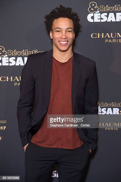 Corentin Fila attends the 'Cesar Revelations 2017' on January 16 2017 in Paris France