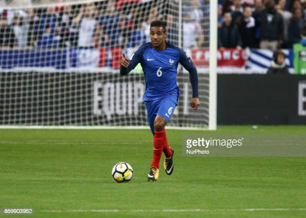 Corentin TOLISSO 6 during the Fifa 2018 World Cup qualifying match between France and Belarus on October 10 2017 in Paris France