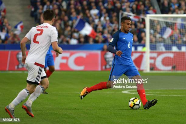 Corentin Tolisso midfielder of France Football team during the FIFA 2018 World Cup Qualifier between France and Belarus at Stade de France on October...