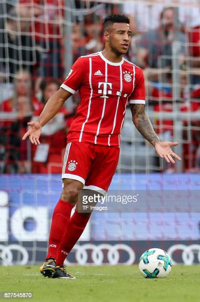Corentin Tolisso of Bayern Muenchen controls the ball during the Audi Cup 2017 match between SSC Napoli and FC Bayern Muenchen at Allianz Arena on...