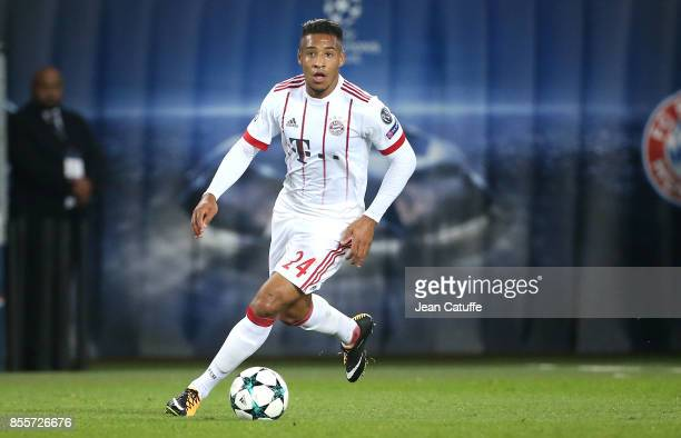 Corentin Tolisso of Bayern Munich during the UEFA Champions League group B match between Paris SaintGermain and Bayern Muenchen at Parc des Princes...