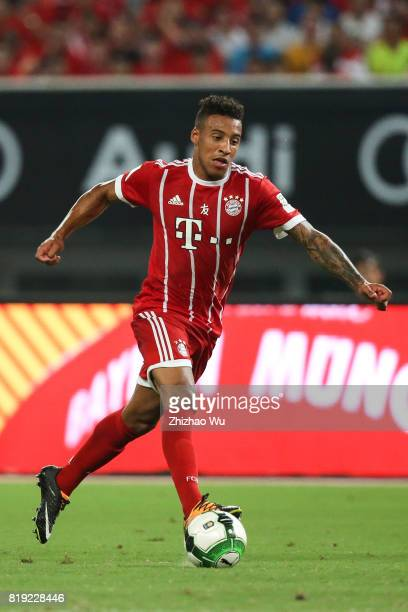 Corentin Tolisso of FC Bayern during the 2017 International Champions Cup China match between FC Bayern and Arsenal FC at Shanghai Stadium on July 19...