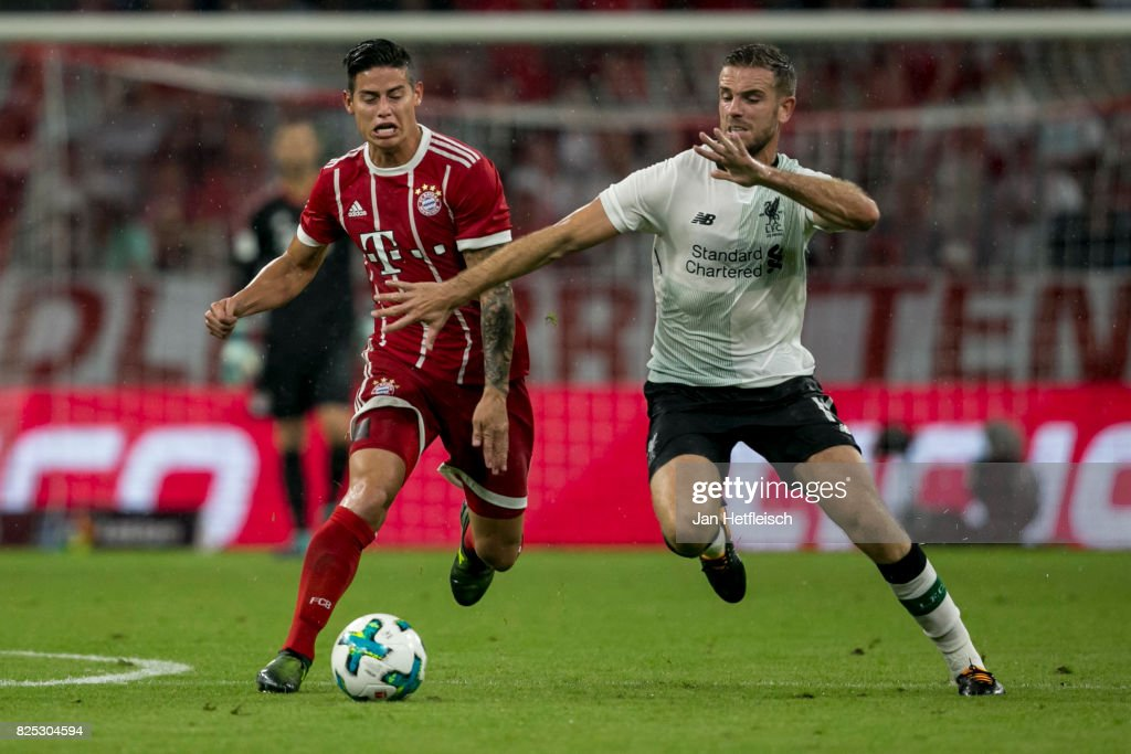 Bayern Muenchen v Liverpool FC - Audi Cup 2017 : News Photo