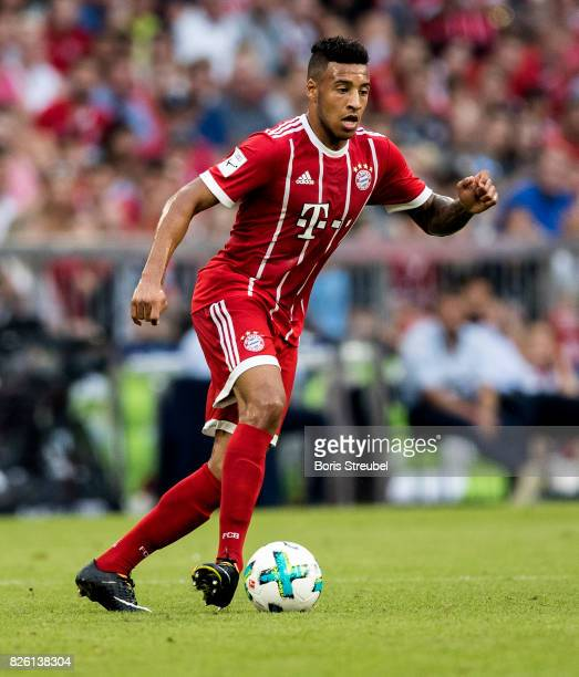 Corentin Tolisso of FC Bayern Muenchen runs with the ball during the Audi Cup 2017 match between SSC Napoli and FC Bayern Muenchen at Allianz Arena...