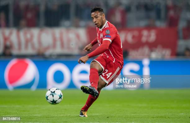 Corentin Tolisso of FC Bayern Muenchen runs with the ball during the UEFA Champions League group B match between Bayern Muenchen and RSC Anderlecht...