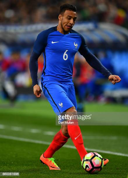Corentin Tolisso of France controls the ball during the International Friendly match between France and Spain at the Stade de France on March 28 2017...