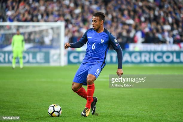 Corentin Tolisso of France during the Fifa 2018 World Cup qualifying match between France and Belarus on October 10 2017 in Paris France