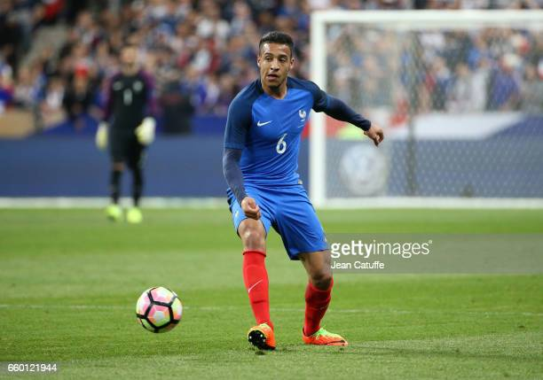 Corentin Tolisso of France during the international friendly match between France and Spain between France and Spain at Stade de France on March 28...
